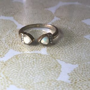 Lunette Open Band Ring